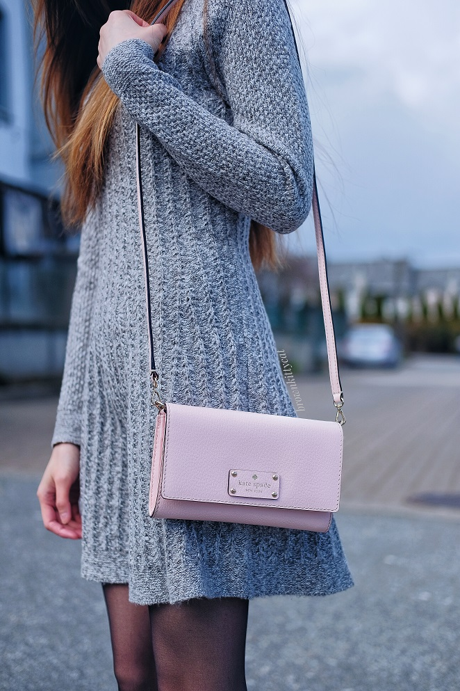 pink kate spade clutch