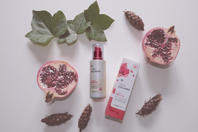 The Face Shop pomegranate & collagen volume lifting essence